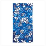 Beach Towel Blue Hyacinth -36018