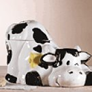 Porcelain Cow Cookie Jar -28273