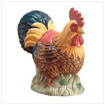 Ceramic Rooster Cookie Jar -32358