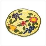 Grape Design Decorative Plate -36274