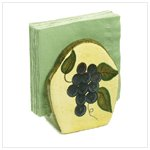 Grape Design Napkin Holder -36275