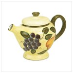 Grape Design Teapot -36278