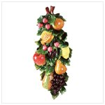 Mixed Fruits Wall Plaque -34111