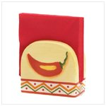 Chili Pepper Napkin Holder -36672