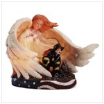 Angel and Fireman Night Light -33795