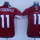 Larry Fitzgerald #11 Red Arizona Cardinals Youth Jersey