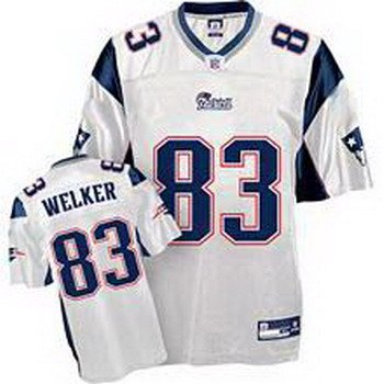 Wes Welker #83 White New England Patriots Youth Jersey