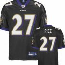 Ray Rice #27 Black Baltimore Ravens Youth Jersey