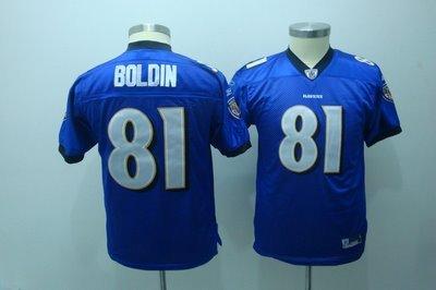Anquan Boldin #81 Purple Baltimore Ravensn Youth Jersey
