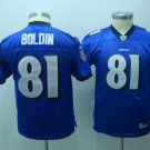 Anquan Boldin #81 Purple Baltimore Ravensn Youth Jersey