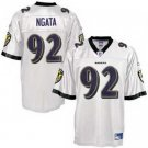 Hiloti Ngata #92 White Baltimore Ravens Youth Jersey
