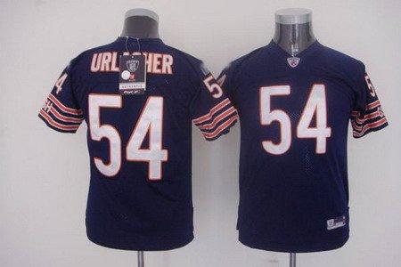 Brian Urlacher #54 Navy Chicago Bears Youth Jersey