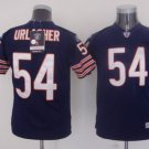 Brian Urlacher #54 Navy Chicago Bears Youth Jersey