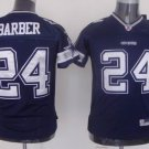 Marion Barber #24 Blue Dallas Cowboys Youth Jersey