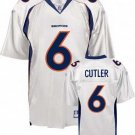 Jay Cutler #6 White Denver Broncos Youth Jersey