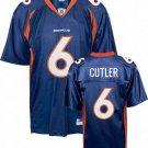 Jay Cutler #6 Blue Denver Broncos Youth Jersey