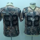 Clay Matthews #52 Camo Green Bay Packers Youth Jersey