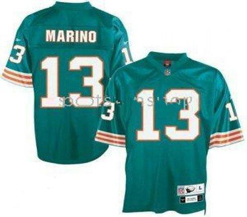 Dan Marino #13 Green Miami Dolphins Youth Jersey