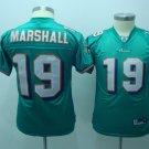 Brandon Marshall #19 Green Miami Dolphins Youth Jersey
