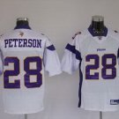 Adrian Peterson #28 White Minnesota Vikings Youth Jersey