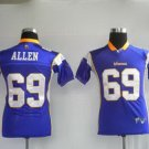 Jared Allen #69 Purple Minnesota Vikings Youth Jersey