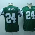 Darrelle Revis #24 Green New York Jets Youth Jersey