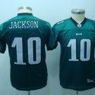 DeSean Jackson #10 Green Philadelphia Eagles Youth Jersey