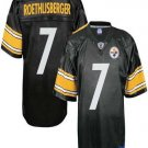 Ben Roethlisberger #7 Black Pittsburgh Steelers Youth Jersey