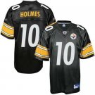 Santonio Holmes #10 Black Pittsburgh Steelers Youth Jersey