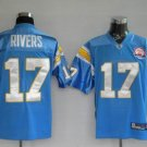 Phillip Rivers #17 Powder Blue San Diego Chargers Youth Jersey
