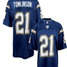 LaDanian Tomlinson #21 Blue San Diego Chargers Youth Jersey