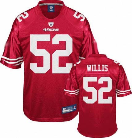 Patrick Willis #52 Red San Francisco 49ers Youth Jersey