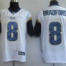 Sam Bradford #8 White St. Louis Rams Youth Jersey
