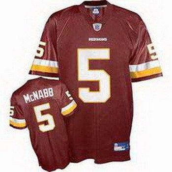 Donovan McNabb #5 Burgandy Washington Redskins Youth Jersey