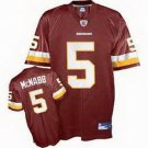 Donovan McNabb #5 Burgandy Washington Redskins Youth Jersey
