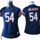 Brian Urlacher #54 Navy Chicago Bears Women's Jersey