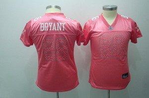 Dez Bryant #88 Pink Dallas Cowboys Women's Jersey