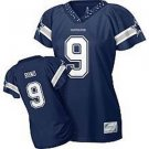 Tony Romo #9 Navy Dallas Cowboys Women's Jersey