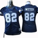Jason Witten #82 Navy Dallas Cowboys Women's Jersey