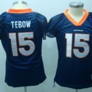 Tim Tebow #15 Navy Denver Broncos Women's Jersey