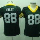 Jermichael Finley #88 Green Green Bay Packers Women's Jersey