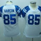 Pierre Garcon #85 White Indianapolis Colts Women's Jersey
