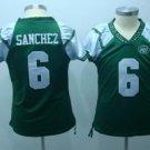 Mark Sanchez #6 Green New York Jets Women's Jersey