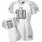 DeSean Jackson #10 Zebra White Philadelphia Eagles Women's Jersey