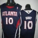 Mike Bibby #10 Blue Atlanta Hawks Men's Jersey