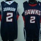 Joe Johnson #2 Blue Atlanta Hawks Men's Jersey