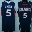 Josh Smith #5 Blue Atlanta Hawks Men's Jersey