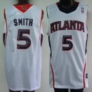 Josh Smith #5 White Atlanta Hawks Men's Jersey