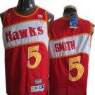 Josh Smith #5 Red Atlanta Hawks Men's Jersey