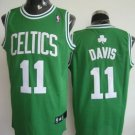 Glen Davis #11 Green W/White Letters Boston Celtics Men's Jersey